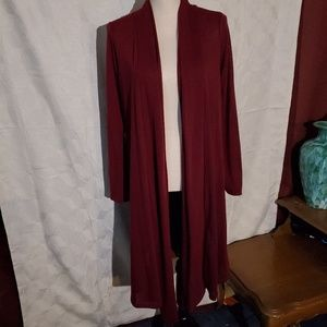 Rags and Couture knee length Cardigan